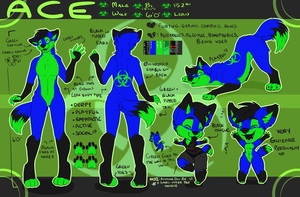 Ace reference sheet commission by coffaefox