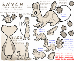 Snych - OPEN SPECIES by griffsnuff
