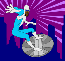 Frozone: The Incredibles by RedMcSpoon