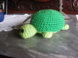 Turtle Amigurmi by CataCata23