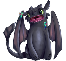Toothless?? by fallenangelsnevercry