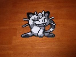 Pokemon Blue : Meowth by Magnus8907