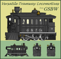Versatile Tramway Locomotives by Atticus-W