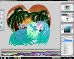 AT : Temptation Beach __WIP_II by Izayoi1265