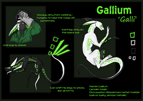 MTT Adoptable try-out: Gallium (lost) by Kai-ni