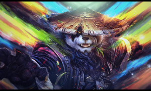 World of Warcraft Pandaria Smudge Tag by Snopex