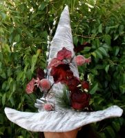 Ode to Persephone Witch Hat by mermaidencreations
