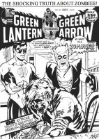 Green Lantern Green Arrow 85 by BigDogsStudio