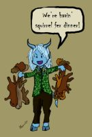 WoW: Squirrels for Dinner by zebracornucopia