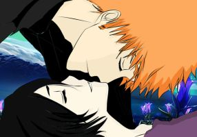 beautiful love ichiruki by Bleach-Fairy