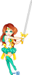 Sailor Aquila Will Cut You by merelei