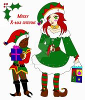 Merry Christmas 09 by BloodRed-Orchid