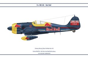 FR010 Fw-190 Red Bull by WS-Clave