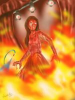 'The Fire that Burns Within Her' by Memphiston