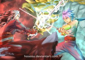 Breath Of Fire IV : X Fight!! by hoseou