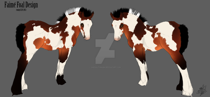699 Lucky You -Foal Design by OneSaltyMama