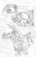 Amazing Spider-Man pencils 2 by ReillyBrown