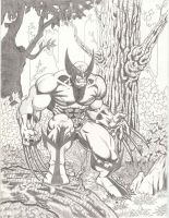 Wolvie ready to pounce by LakLim