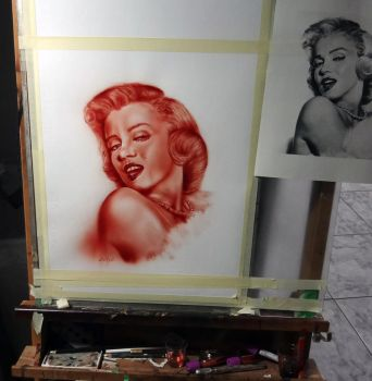 Marilyn by Dr-Rev