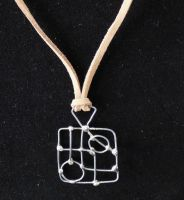 Square Soldered Necklace by smelliga