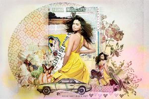 yellow deepika by Rose-Way