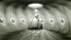 Worms artwork - white room by silvanderwoerd
