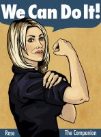 We Can Do It - Rose Tyler by lil-n00dle