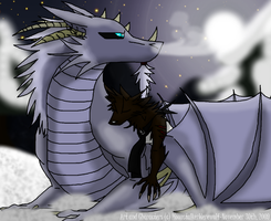 Sleeping with Dragons... by MoonstalkerWerewolf
