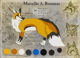 Marcello A. Rousseau Reference by miryhis
