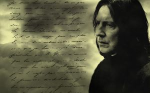Severus Snape Background - 2 by rouquinamour