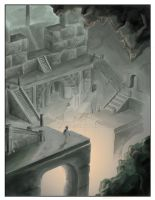 LOST IN A LOST CITY by ARMAND77