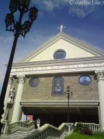 church in batangas. by windarchitect