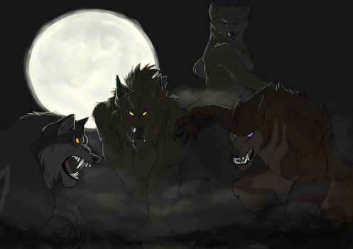 The Pack by firefly16161616