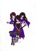 Sisters of Death by ally81876