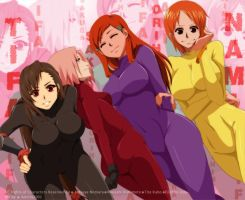 Girls in Suit by annria2002