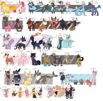 canine clutch dump by tealgoodra