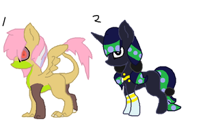 Pony adoptable Sheet 3 by Kyah-Pony-Adoptables