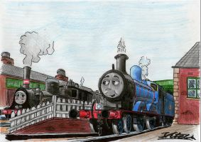 Sodor Scenarios: The Wellsworth Welcome by Danishinterloper656