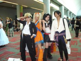 Naruto and Sasuke at Fanime 08 by swtluck