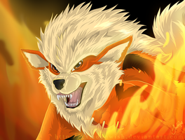 Arcanine by xxMoonwish