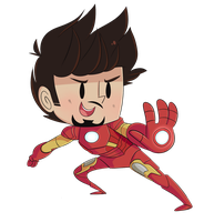 TONY  BLAST by ecokitty