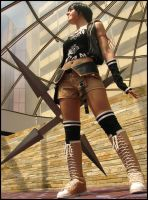 FF Advent Children: Yuffie by SFLiminality