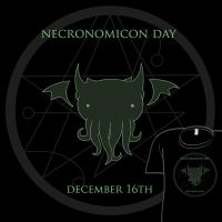Woot Shirt - Necronomicon Day by fablefire