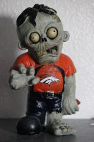 Broncos Zombie Stock- See Gallery for more angles! by BeccaB-323-STOCK