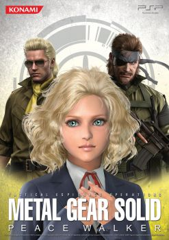 MGS: Peace Walker Poster.3 by B4H
