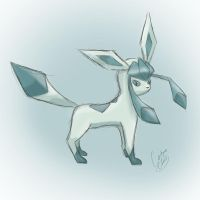 The cool one ~Glaceon by NAD-LifeOfficial