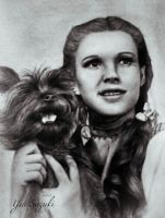 Dorothy and Toto by yui701