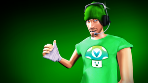 {SFM} Vinny from Vinesauce by deadlysupia