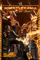 WWE WrestleMania 27 v3 by All4-Xander
