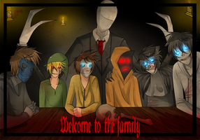 Welcome to the family by DJ-BOmBE